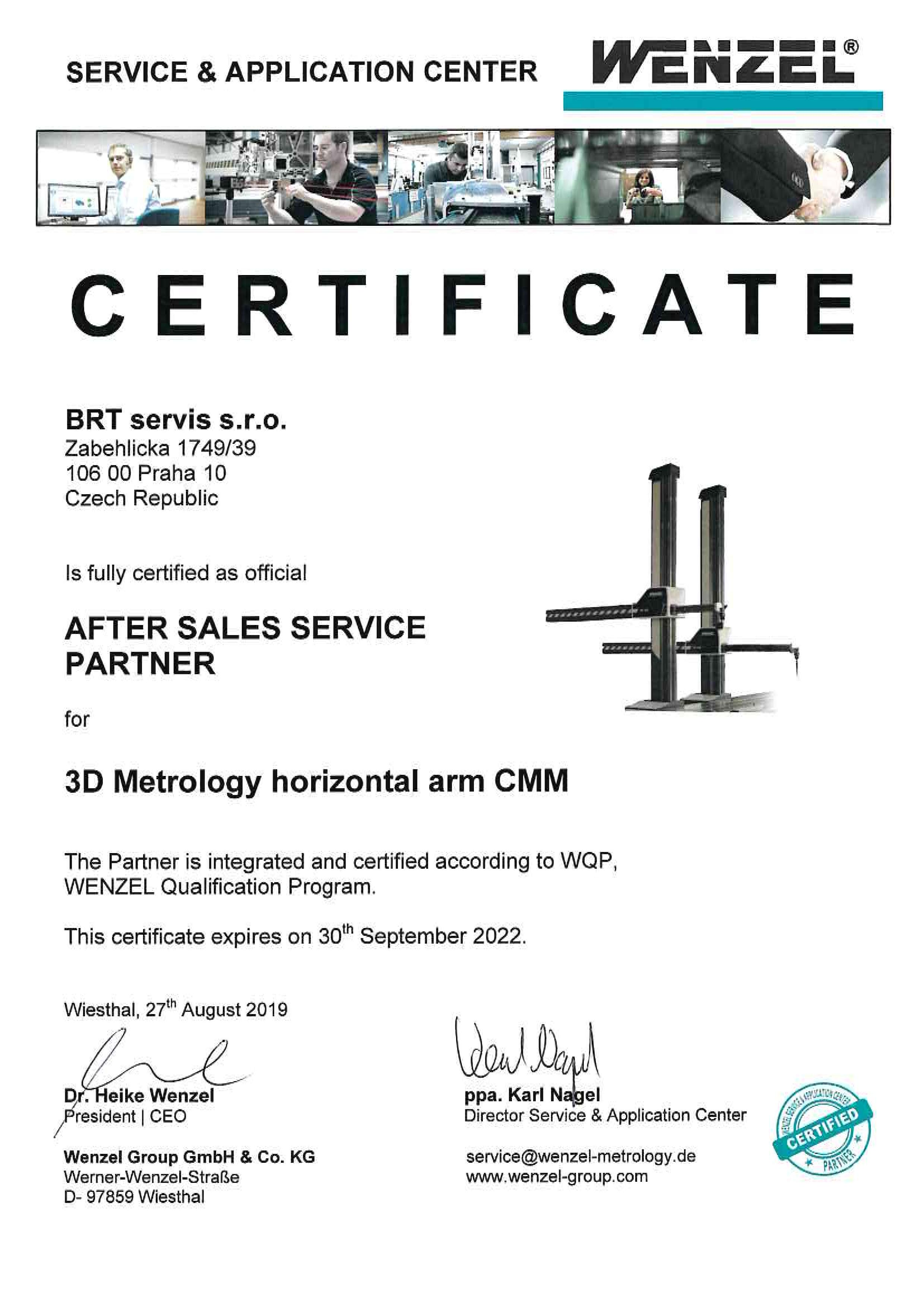 Certificate_Metrology horizontal arm CMM_04.09.2019-page-001